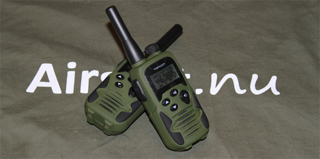 Topcom Twintalker 9500 Airsoft Edition review