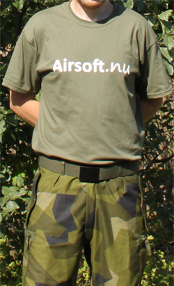 Airsoft.nu Product tester uniform