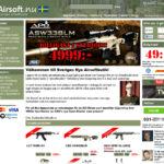 Airsoft.nu – Sveriges Nya Airsoftbutik