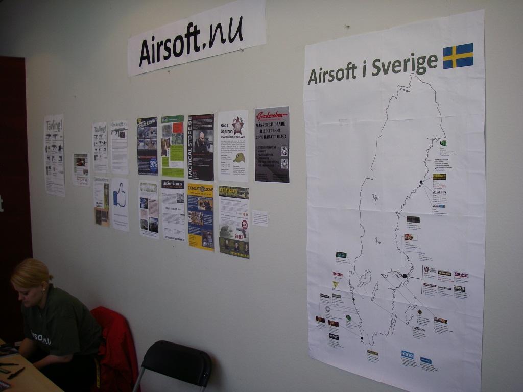 AirsoftExpo Göteborg 2012