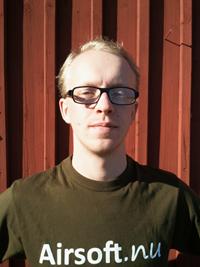 Erik, Butikschef Airsoft.nu