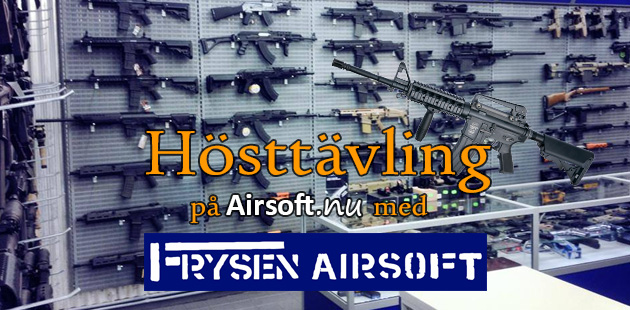 Hösttävling på Airsoft.nu med Frysen Airsoft