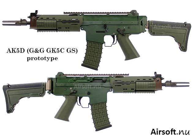 AK5D (G&G GK5C GS) prototyp