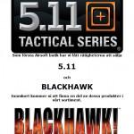 5.11 & BLACKHAWK, snart i lager hos COMBATZONE