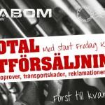 Cabom: Total utförsäljning