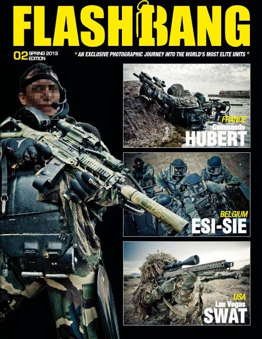 Andra numret av Flashbang Magazine har släpps och är på väg till oss.