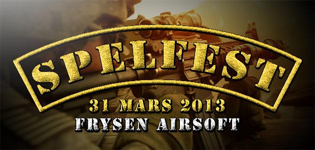 Spelfest hos Frysen Airsoft