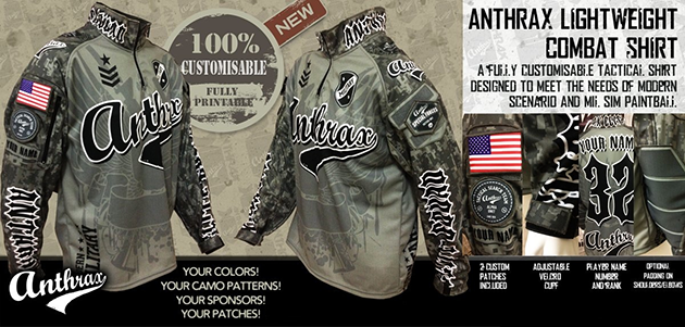 Trinity Airsoft: Custom combat shirts, tröjor, patches mm.