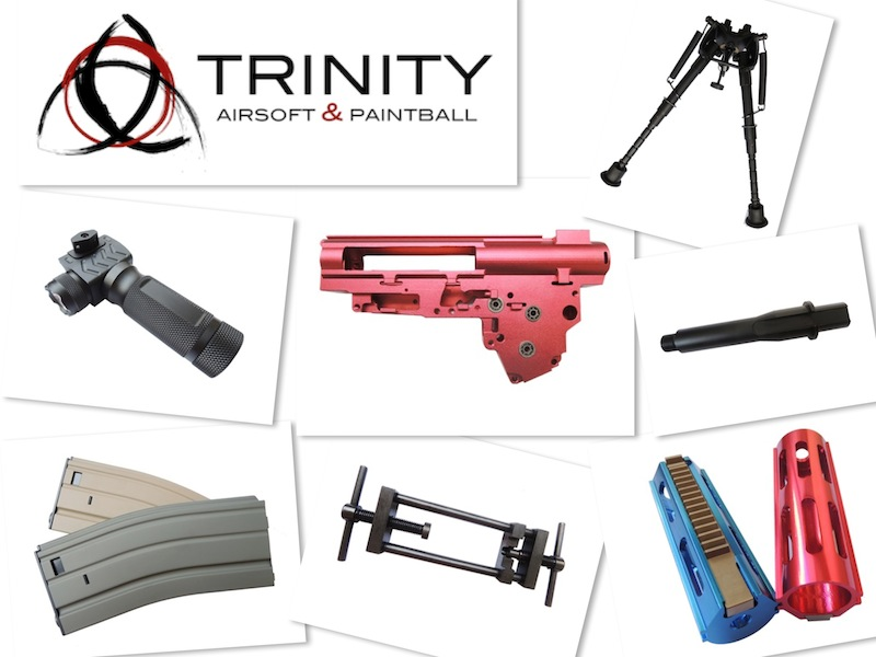 Trinity Airsoft: ZCI Airsoft produkter i lager