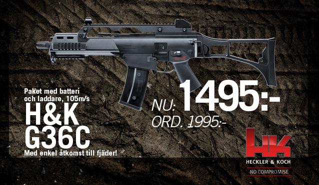 Cabom: S&T Heckler & Koch G36C Sportsline - Ny version!, till specialpris!