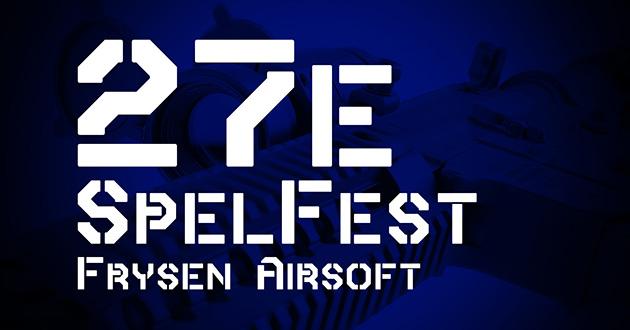 Spelfest hos Frysen Airsoft 27:e oktober