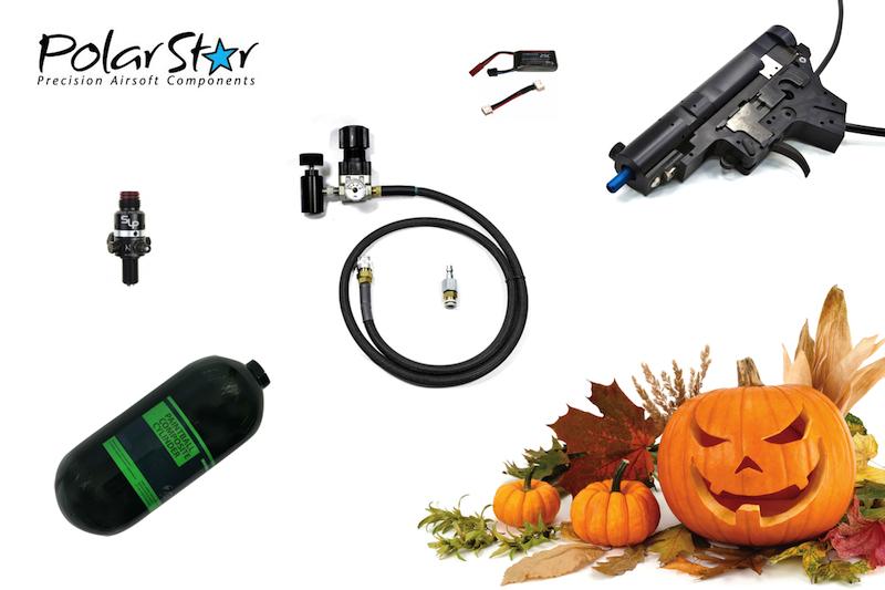 Trinity Airsoft: Halloween-erbjudande