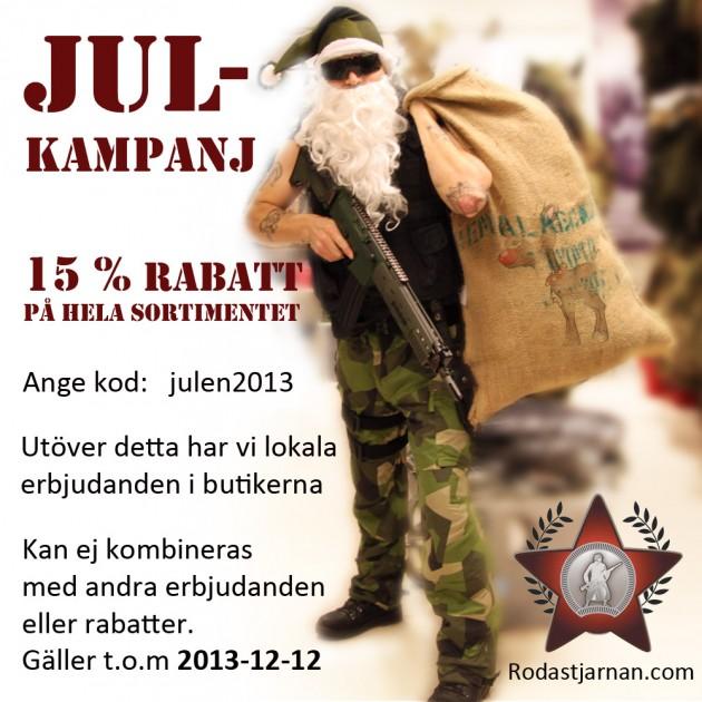 Röda Stjärnans Militaria: Julkampanj