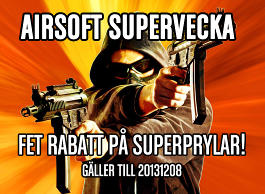 Tacticalstore: Airsoft Supervecka & Superfredag