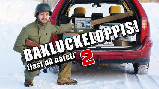 Bakluckeloppis 2 hos Tacticalstore
