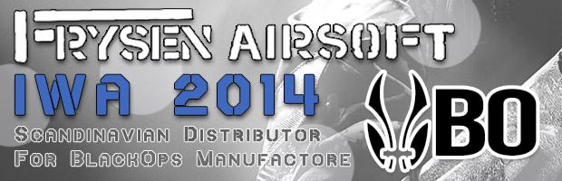 Frysen Airsoft / Black Ops IWA 2014