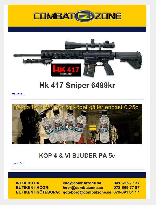 Combat Zone: Sniper eller? Hk 417