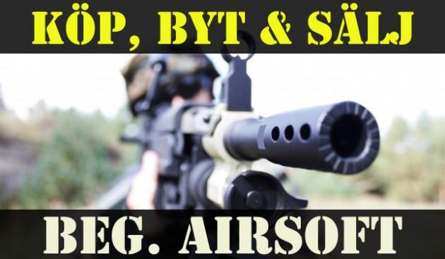 Garderoben: Köp, byt & sälj ditt airsoftvapen eller tillbehör