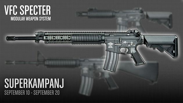 Tacticalstore: VFC Specter MWS kampanj
