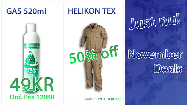 Frysen Airsoft November Deals