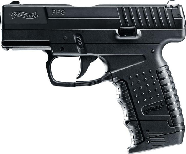 Cabom: Walther PPS - CO2 driven airsoftpistol med blowback!