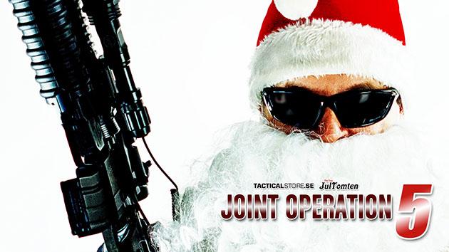Jultomten & Tacticalstore Joint Operation 5