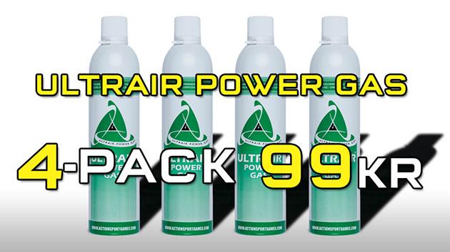 AirStrike: 4-pack Ultrair Power Gas 570ml
