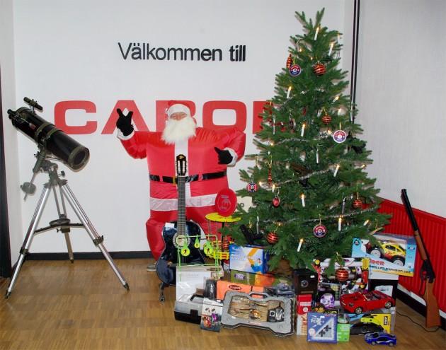 Julhälsning från Cabom