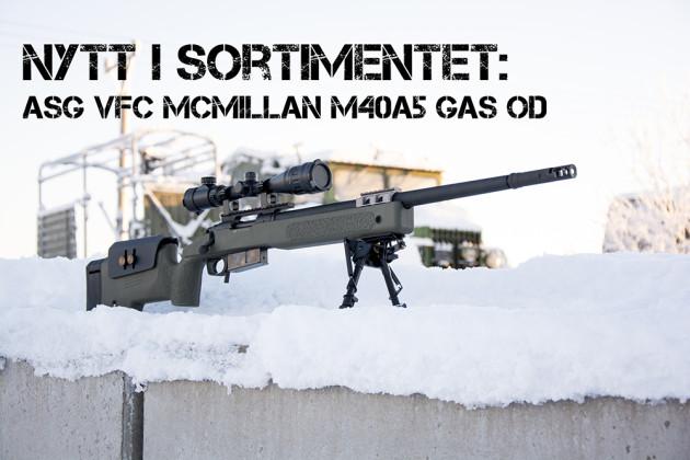 ASG VFC McMillan M40A5 Gas OD