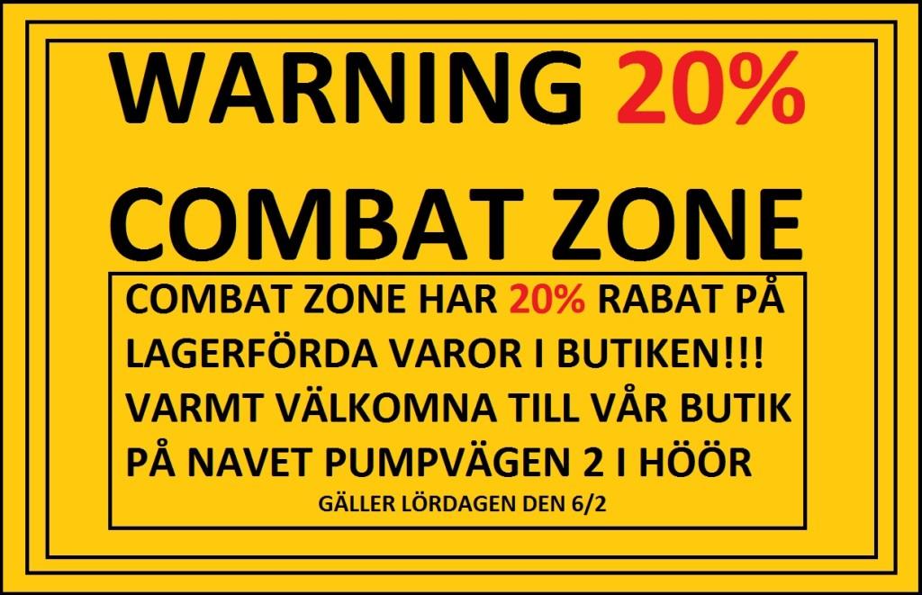 Combat zone 20%