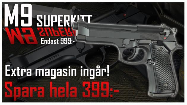 M9-kampanj hos Frysen Airsoft