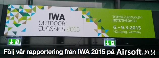 Följ vår rapportering från IWA OutdoorClassics 2015! Klicka här!