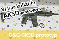G&G GK5D (AK5D) prototyp snabbkoll