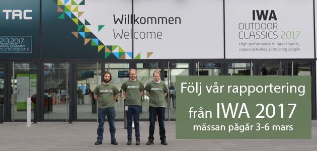 Följ Airsoft.nu's rapportering från IWA 2017.