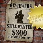 WGC Shop: Winner Announcement