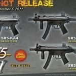 Nyheter från SRC Airsoft