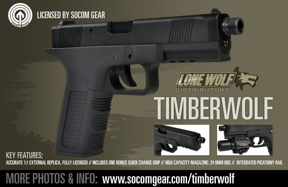 Socom gear Lone wolf Timberwolf glock