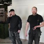 Invigning av Vapenbutikens nya butik och inomhusbana
