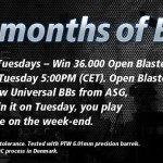 Vinn 36000 Open Blaster från ActionSportGames