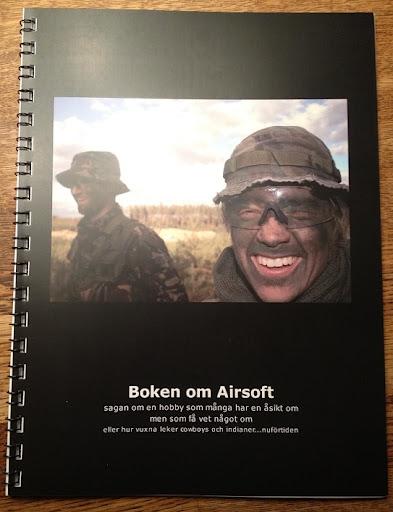Boken om Airsoft i Sverige.