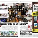 Reportage om PFT Kether i tidningen City Malmö