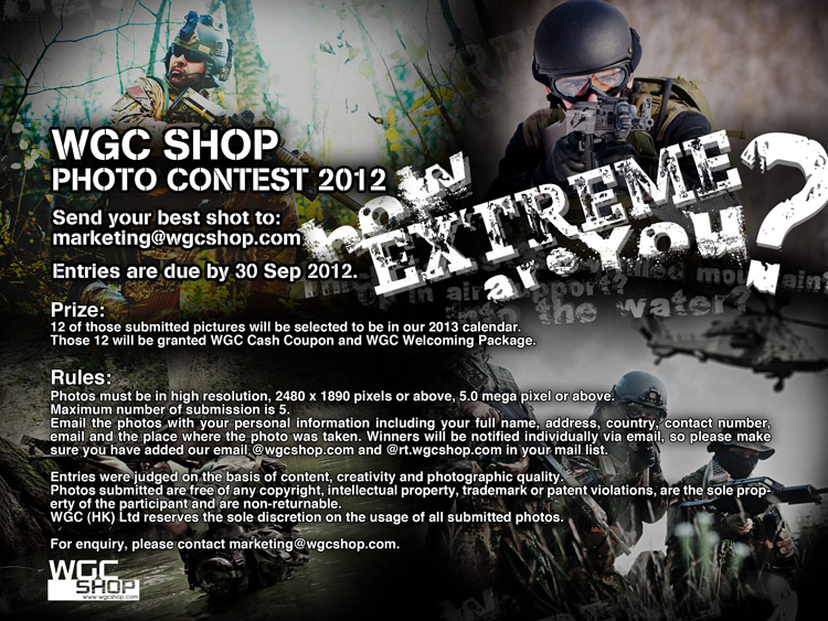 WGC Shop Photo Contest 2012