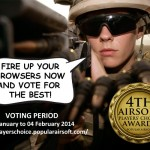 Omröstningsperiod i 4th Airsoft Players' Choice Awards