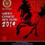 Kinesiskt nyårsfirande 2014