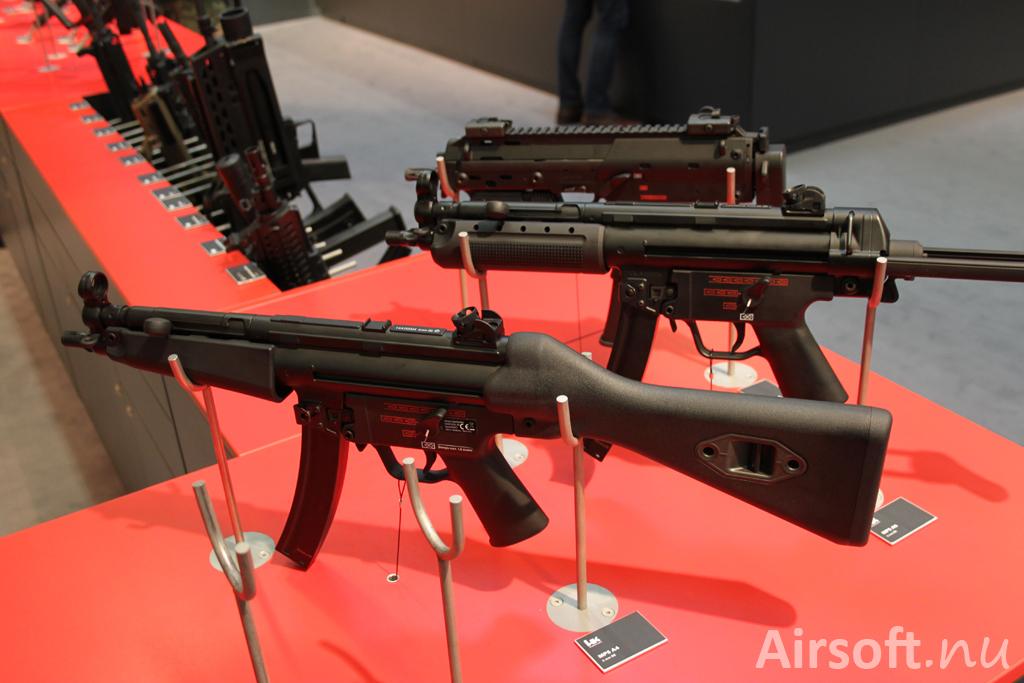 H&K MP5 A4 och MP5 A5.