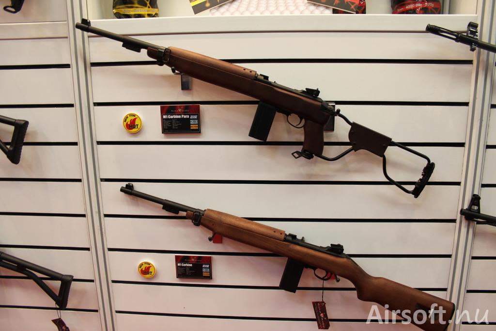 King Arms Carbine Para och M1 Carbine.