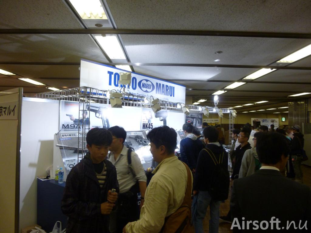 Tokyo Marui på Victory Show 2014 i Tokyo.