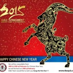 Kinesiskt nyår 2015