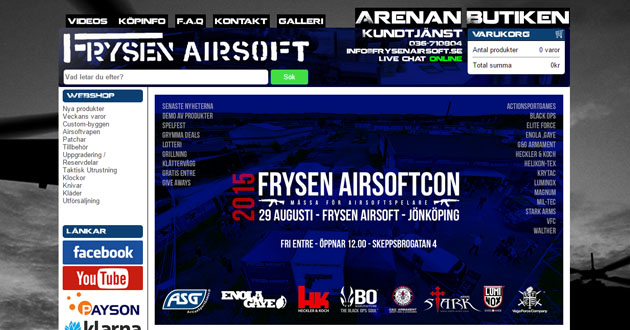 Frysen Airsoft
