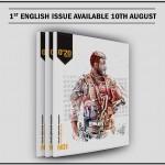 Tidningen 0'20 Magazine lanseras på engelska